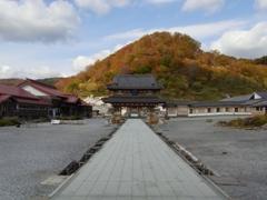 秋の恐山(青森県下北半島)