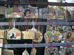 鷲宮神社のラキスタ絵馬