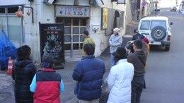 阿寒湖を訪れる中国人旅行者
