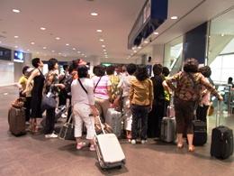 韓国人ツアー客