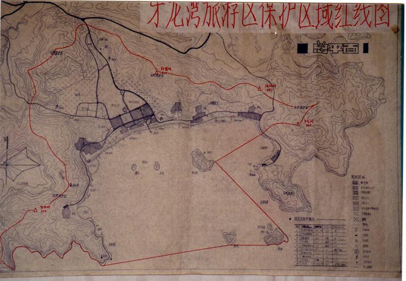 図4 牙龍湾計画図 現地公司作成済みのもの(小久保氏提供)