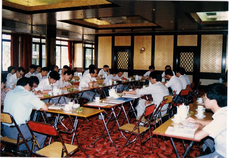 写真2 海難行政区とのミーティング(小久保氏提供)