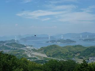 展望台から眺めるしまなみ海道
