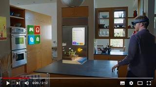 Hololensの動画