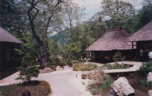 写真5「平家の里」中庭周辺の様子