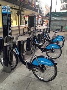 ロンドンのシェアサイクル